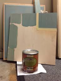 painting over stained cabinets in the kitchen