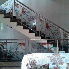 stainless steel staircase railing at rs 1650 foot ss railings