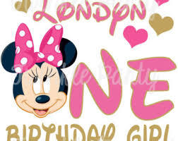 minnie mouse 1st birthday minnie mouse 1st birthday shirt etsy
