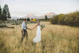 free wedding venues in oregon oregon mountain meadow elopement carlee garret green wedding