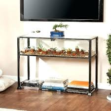 console table under tv table under mounted tv real estate directories