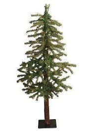 time 6 5 ft pre lit green colorado pine tree with 400