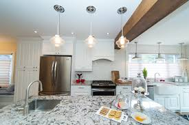 kitchen island lighting with simple and stylish pendant lamps