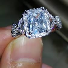 925 sterling silver engagement rings topaz gem 925 sterling silver engagement ring