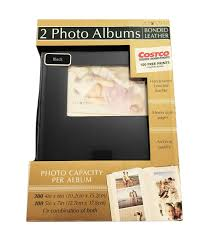 quality photo albums 2 pack bonded leather photo album holds 300 photos