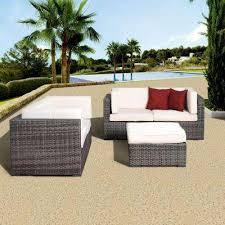 wicker patio furniture white patio furniture outdoors the