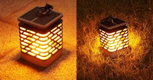 Led Solar Lamp Picture More Detailed Picture About 24 Brelong Led Solar Dancing Flame Light 19 99 Online Shopping