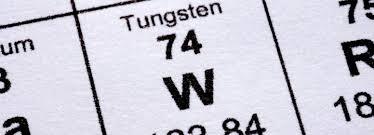 Periodic Table Tungsten Tungsten Eurofusion