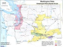 Bellingham Washington Map by Wa State Appellations Mikel U0027s Guide To Wa Wineries