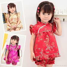 new year baby clothes floral children s sets baby clothes suits new year