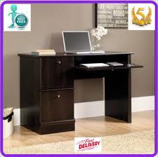 Sauder Laptop Desk Sauder Laptop Desk Basics Writing Workstation Wood Finish Cinnamon