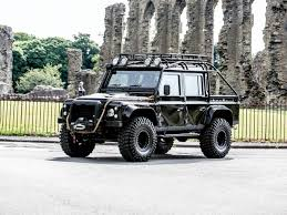 land rover defender concept prepare to bid for land rover defender svx concept from 007 movie