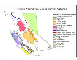 Map Of Western Canada by Petroleum Geology Province Of British Columbia