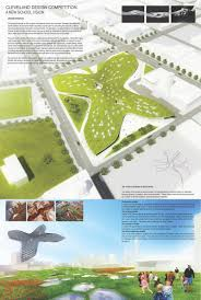 Cleveland State Campus Map by Organic Scapes And Architecture Gabriel Belli Butler Stefano