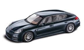 porsche dark blue metallic porsche panamera 4s executive 1 43 model car dark blue metallic
