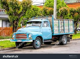 german opel blitz truck pucon chile november 20 2015 old stock photo 344426771 shutterstock