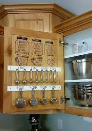 Organization For Kitchen Cabinets Best 25 Measuring Cup Storage Ideas On Pinterest Kitchen