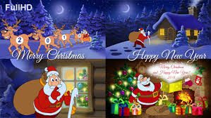 happy new year photo card merry christmas and happy new year animated card by cartoontower