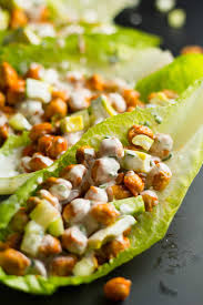 buffalo chickpea lettuce wraps eat within your means