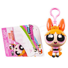 the powerpuff girls flick n reveal keychain blossom toys