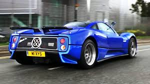 blue pagani pagani zonda s sounds and combos youtube