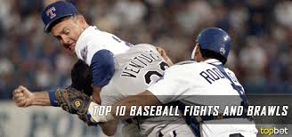 Red Sox Yankees Benches Clear Top 10 Mlb Best Bench Clearing Baseball Brawls And Fights