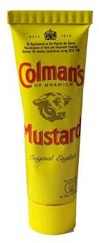 coleman s mustard mustard 50g