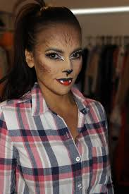 cute werewolf halloween makeup something simple and the kids will
