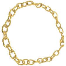 large link necklace images Jean mahie large gold cadene link necklace at 1stdibs jpg