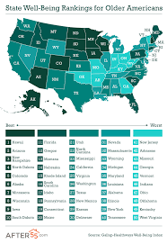 happiest states happiest states for seniors hawaii and arizona top list
