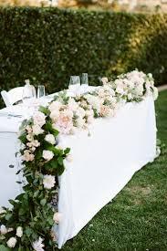 Wedding Table Centerpiece Ideas The 25 Best Wedding Table Garland Ideas On Pinterest Wedding