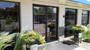 store front glass doors commercial glazing des moines iowa sassman glass and mirror
