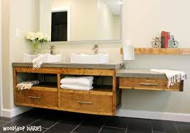 Building Bathroom Vanity by Build Your Own Bathroom Vanity Plans Because Without Doors This