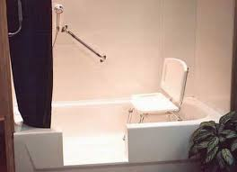 Bathtub Converted To Shower Bath On Pinterest Walk In Tubs Showers And Tubs Best Walk In