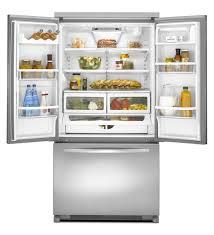Samsung Cabinet Depth Refrigerator Kitchen Samsung French Door Refrigerators Reviews French Door