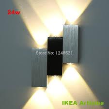 modern 18w led wall light bathroom light high quality aluminum