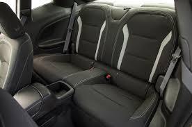 chevrolet camaro back seat 2016 chevrolet camaro ss v 8 rear interior seats rod