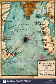 Map Of Usa In 1861 by Map Charleston Harbor South Carolina Bombardment Of Fort Sumter