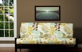 futon wonderful patterned futon covers duvet used as futon cover