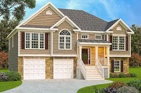 split level house 3 bed split level house plan 75430gb architectural designs