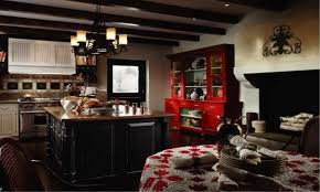french country kitchen red video and photos madlonsbigbear com