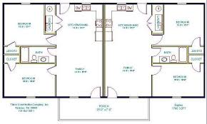 small modern duplex house plans home act