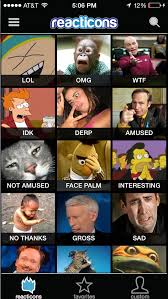 Custom Meme Creator - reacticons reaction pics real life emoticons and smileys with