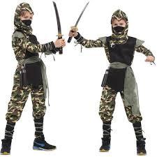 110 140cm kids halloween costumes boy costumes camouflage