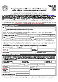 Free Power Of Attorney Medical Forms To Print by Free Georgia Power Of Attorney Forms Adobe Pdf Word