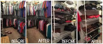 how to organize closets