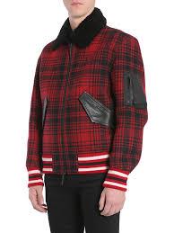 tommy hilfiger wool er jacket rosso men s jackets italist
