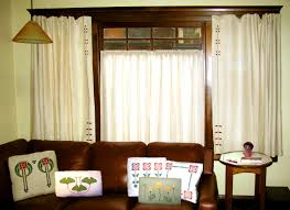 Curtains Inside Window Frame Arts U0026 Crafts Period Textiles