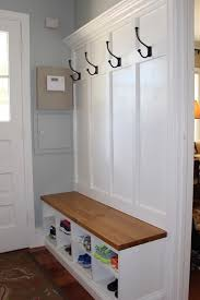 entryway bench and coat rack entry with storage regarding way