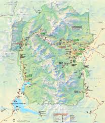 Capitol Reef National Park Map Rocky Mountain National Park Maps Usa Maps Of Rocky Mountain